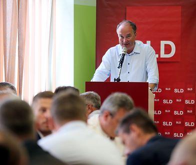 Przewodniczący SLD Włodzimierz Czarzasty podczas rady krajowej Sojuszu Lewicy Demokratycznej w czerwcu tego roku.