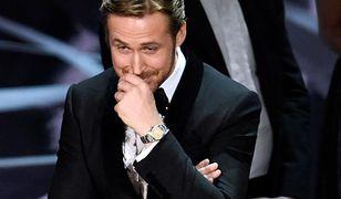 Ryan Gosling podczas zamieszania na gali Oscarów 2017