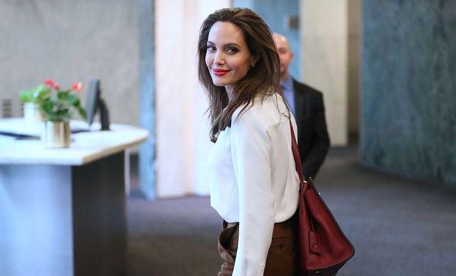 Angelina Jolie znów wygląda zjawiskowo. Aktorka walczy o przestrzeganie praw człowieka