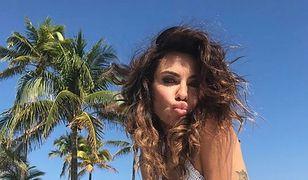 Natalia Siwiec kusi w bikini na rajskich w Miami. Rzeczywiście jest w ciąży?