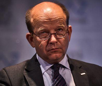 Minister zdrowia Konstanty Radziwiłł.