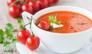 zupa pomidorowa z mlekiem kokosowym