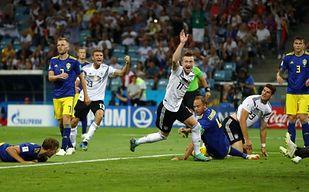 Mecz Niemcy - Szwecja przejdzie do historii! Co tam się działo!