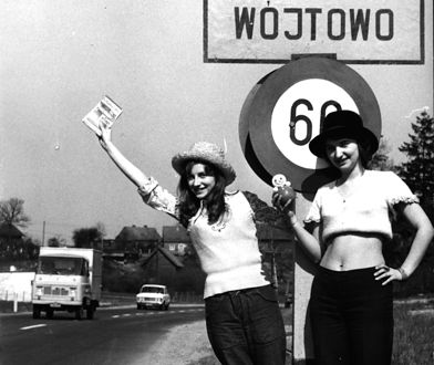 Autostop –  wspomnienie podróży w PRL-u