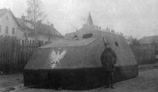 """""""Tank Piłsudskiego"""" – pierwszy polski wóz opancerzony"""