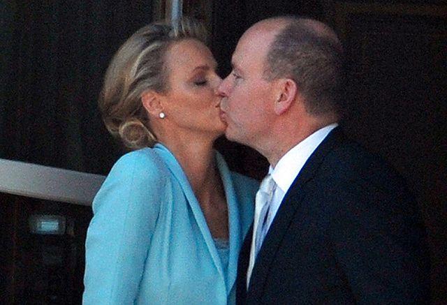 Książe Albert II i księżna Charlene