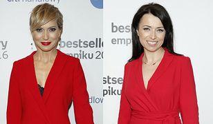 Damy w czerwieni: Smaszcz-Kurzajewska kontra Pakosińska. Która wyglądała lepiej?