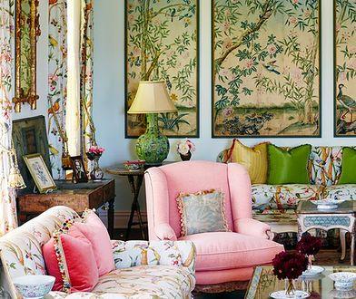 Orient, retro, shabby chic– zobacz, które style wnętrz kochają tkaniny we wzory!