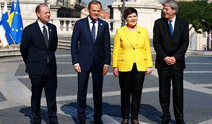 Beata Szydło: Odważna żółć w ważnym dniu