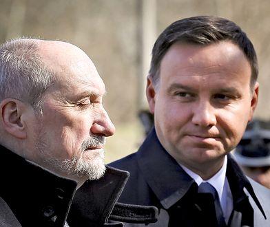 Minister Antoni Macierewicz i prezydent Andrzej Duda