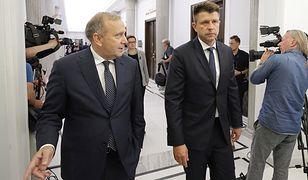 Szefowie PO i Nowoczesnej Grzegorz Schetyna i Ryszard Petru.