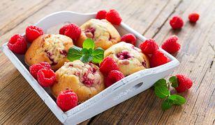 Muffiny z owocami - idealne na podwieczorek