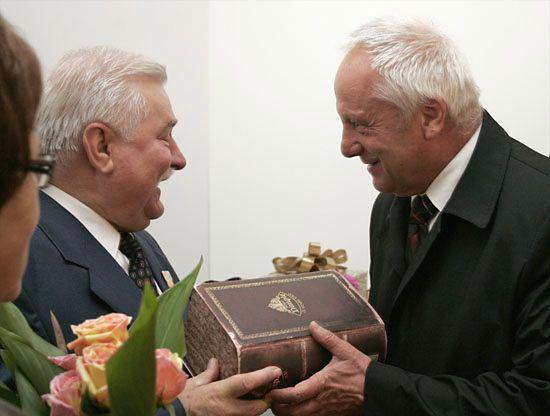 Kto przybył na 67. urodziny Lecha Wałęsy? - zdjęcia