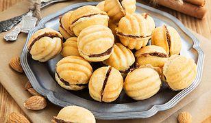 Ciasteczka orzeszki z kremem