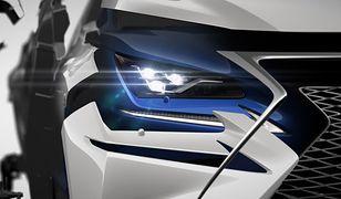 Lexus NX po liftingu zadebiutuje w Szanghaju