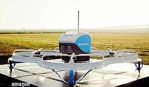 Dron Amazona dostarczył pierwszą komercyjną przesyłkę