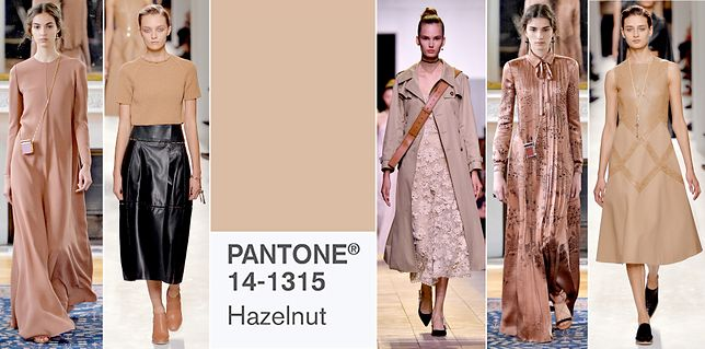 2017 color trends pantone - Kolory Na Wiosn 2017 Pantone 14 1315 Hazelnut Wp Kobieta