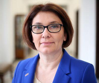 Beata Mazurek, polityk, posłanka, rzecznik prasowy PiS od 2016 roku