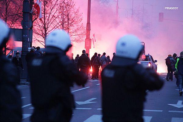 Marsz niepodległości, 11 listopada w Warszawie