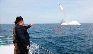 """Korea Północna zagroziła """"zatopieniem"""" Japonii"""