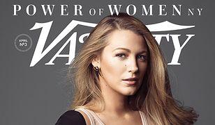 """Blake Lively w """"Variety"""": """"Wygooglowałam kiedyś siebie i wpadłam w depresję"""""""