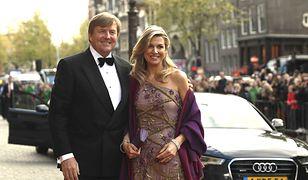 Król Willem-Alexander z królową Maksymą