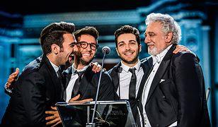 TVP1 pokaże koncert Il Volo i Placido Domingo