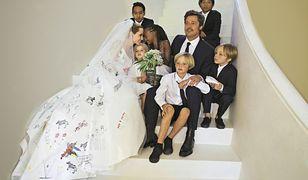 Brad Pitt spotkał się z dziećmi