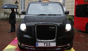 Londyńskie taksówki z Chińskim rodowodem