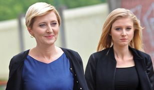 """Agata Duda i jej córka nie poszły na premierę """"Smoleńska"""". Wolały zobaczyć nową komedię Woody'ego Allena"""