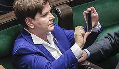 Jak ubrali się posłowie na zaprzysiężenie Sejmu?