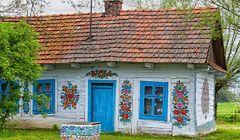 Zalipie - polska wieś w kwiaty malowana
