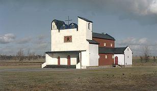 Cerkiew w Białym Borze według projektu profesora Jerzego Nowosielskiego we współpracy z architektem Bogdanem Kotarbą