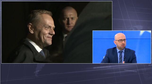 Krzysztof Łapiński: Donald Tusk nie może cieszyć się swoistym immunitetem, który uchroni go przed przesłuchaniem