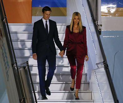 Trump zabrał do Polski córkę i jej męża. Jak wyglądała Ivanka?