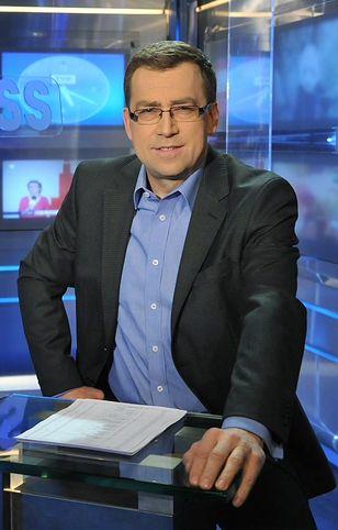 """Maciej Orłoś prowadził """"Teleexpress"""" od 1991 roku. Odszedł z TVP w sierpniu 2016 roku."""