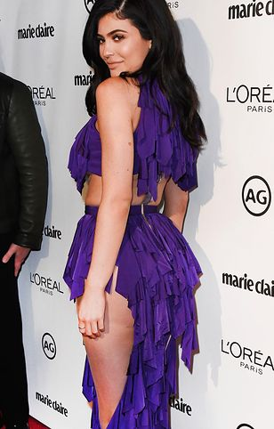 Kylie Jenner w oryginalnej kreacji. Znów pokazała ciało!