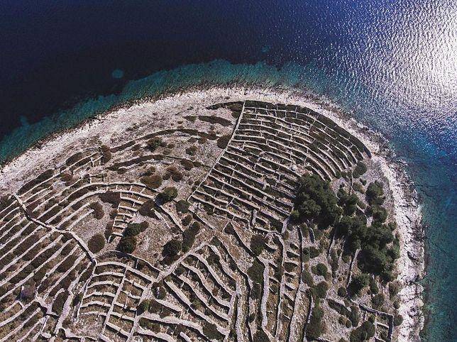 Baljenac - wyspa w kształcie odcisku palca