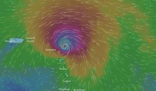 Wędrówka huraganu Irma