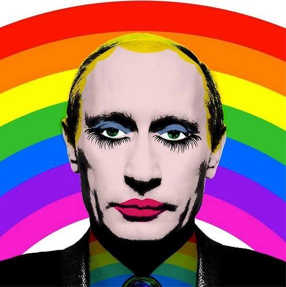 """Grafika z Putinem zakazana w Rosji. Jest na 4071. miejscu """"materiałów ekstremistycznych"""""""