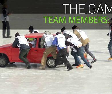 Samochodowy curling. Nagranie z Rosji podbija internet