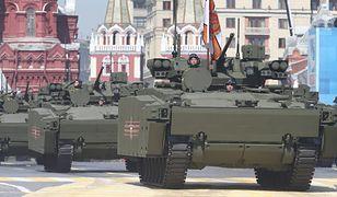 Nowy rosyjski pojazd opancerzony steruje się kontrolerem do gier