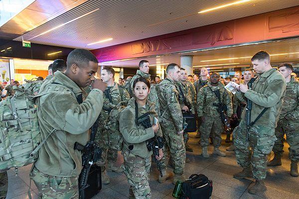 Pierwsze grupy żołnierzy USA we Wrocławiu