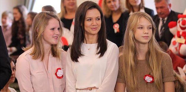 Kinga Rusin z pięknymi córkami FOTO