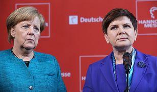 Kanclerz Angela Merkel oraz premier Beata Szydło