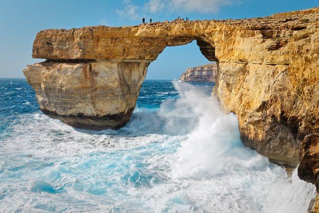 Lazurowe Okno u wybrzeży Gozo zniszczone bezpowrotnie