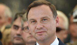 Andrzej Duda w Szczytnie: prezydent ma obowiązek tak służyć Polsce, jak służą jej policjanci