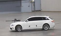 Paintball w Audi RS4 Avant