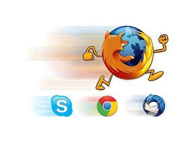 Jak trzykrotnie przyspieszyć działanie Firefoksa, Chrome, Skype i Thunderbirda? Oto sposób