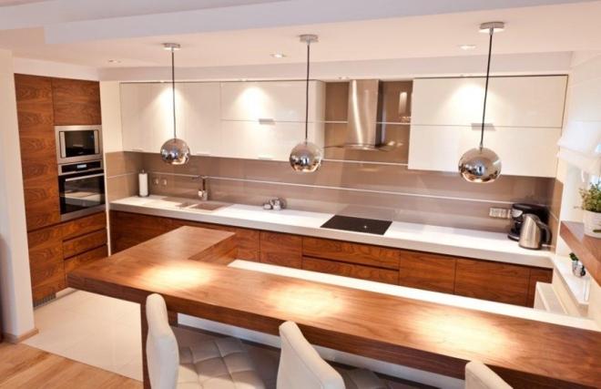 Najważniejsze zasady oświetlenia kuchni  WP Dom -> Kuchnia Prowansalska Oświetlenie